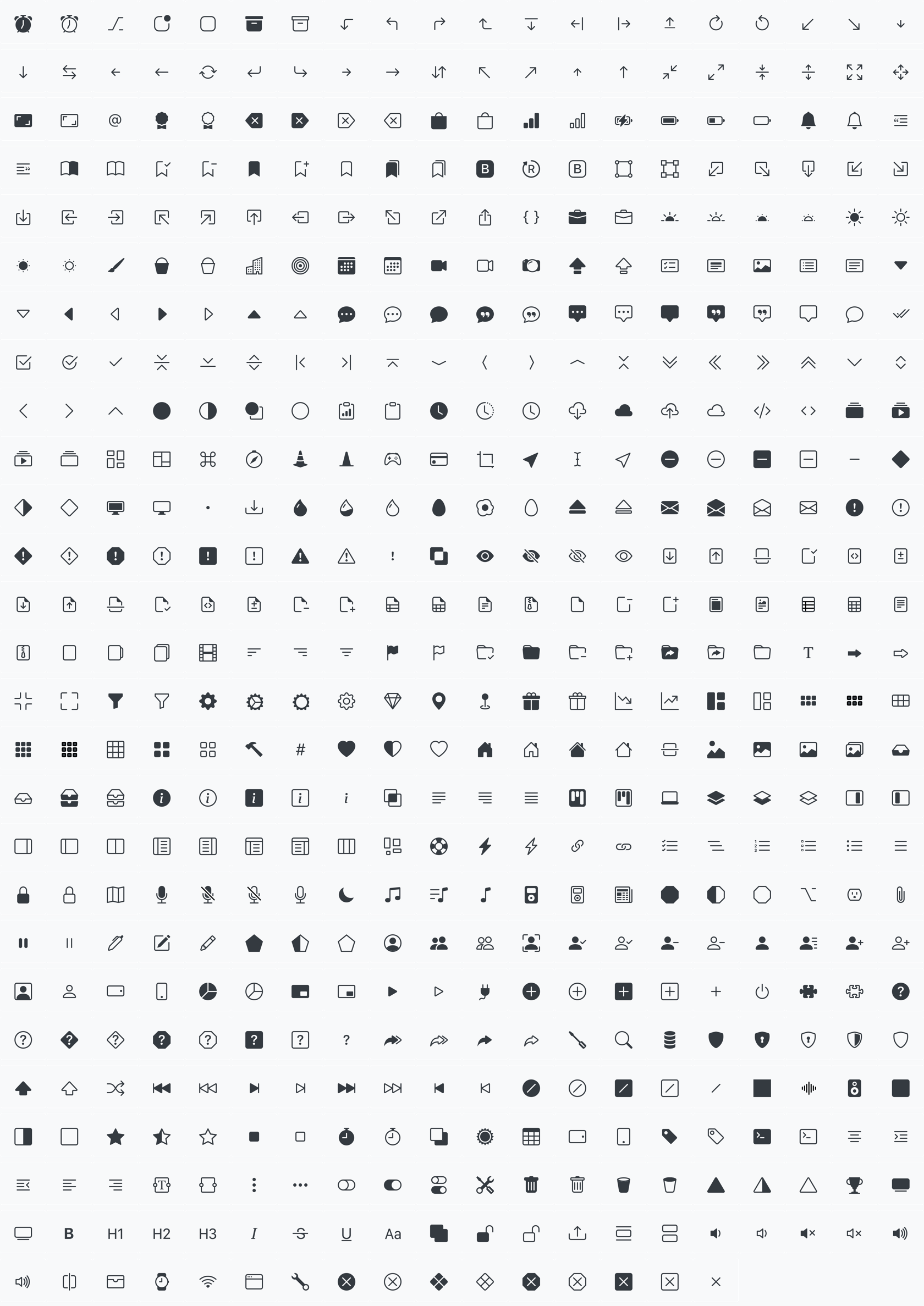 All Bootstrap Icons