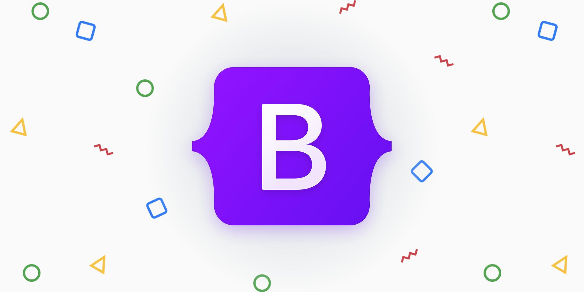 New Bootstrap logo
